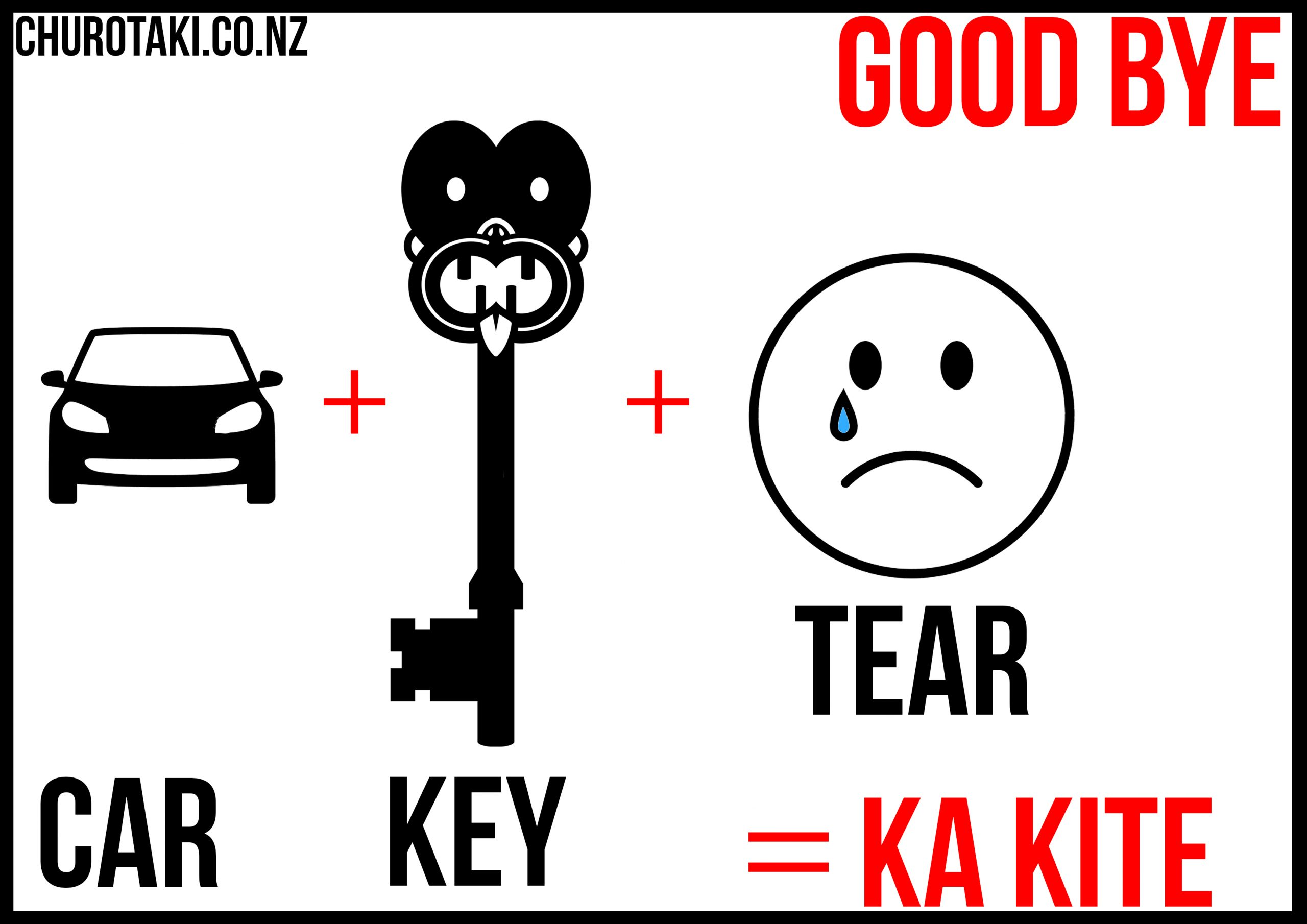 Chur Otaki - Ka kite/Goodbye